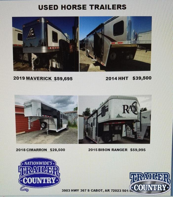 2019 Other USED HORSE TRAILERS Horse Trailer