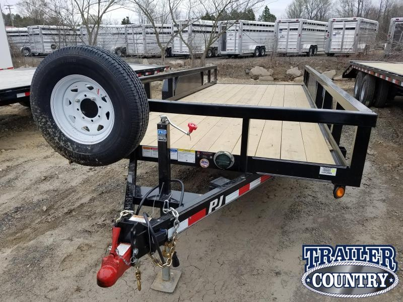 ***RENTAL***2019 PJ ---20 Angle Pipetop  Car / Racing Trailer