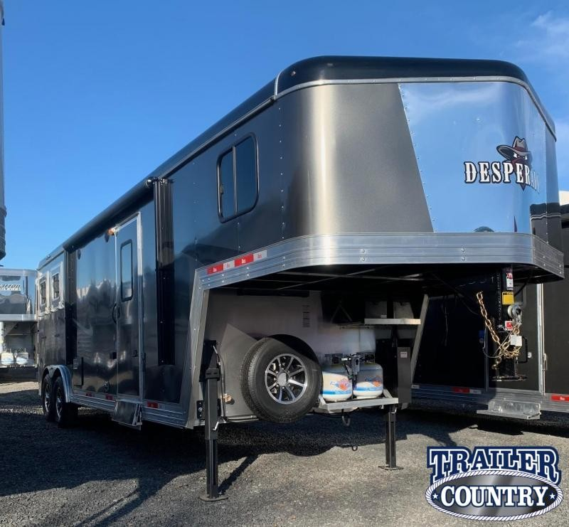 2021 Bison Trailers Desperado 2 Horse Trailer with Living Quarters