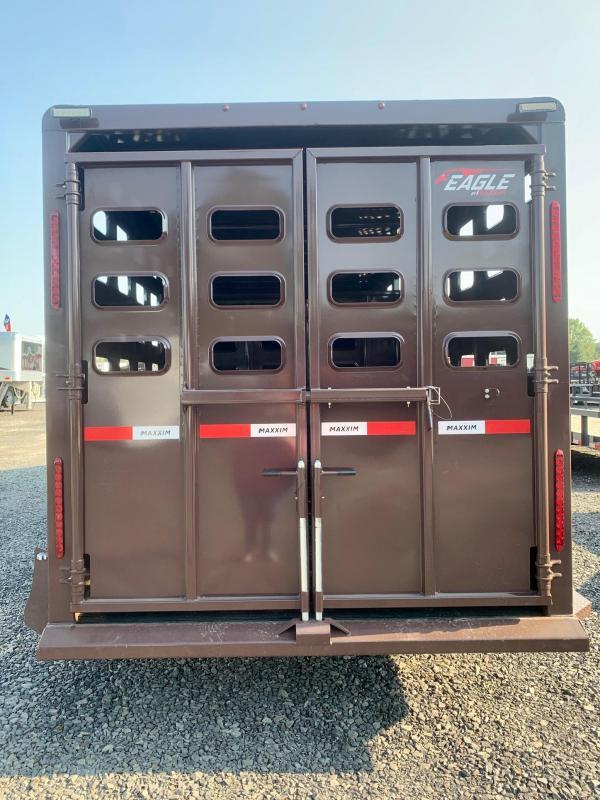 2022 Maxxim Industries Eagle 20' Livestock Trailer - IN STOCK!!