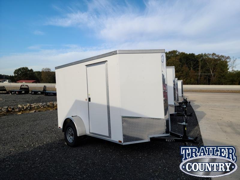 2021 Spartan Cargo 6X10SA Enclosed Cargo Trailer