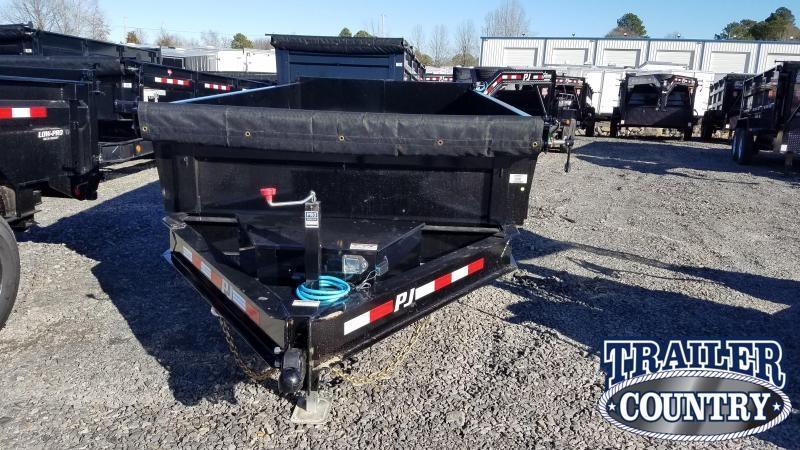 2020 PJ Trailers 83X14 TA Dump Trailer