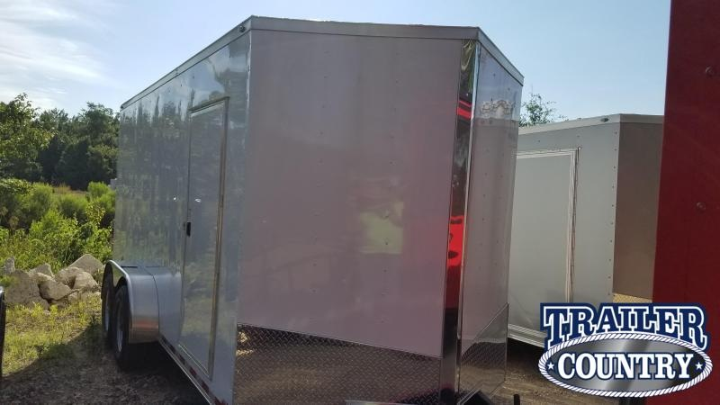 2019 Spartan 7X16 TA XXL Enclosed Cargo Trailer