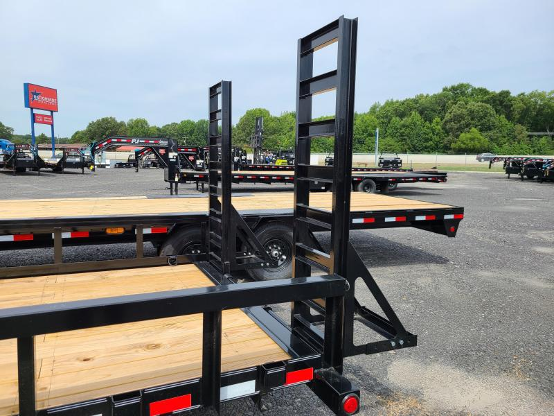 2021 PJ Trailers 24FT ANGLE PIPETOP Equipment Trailer
