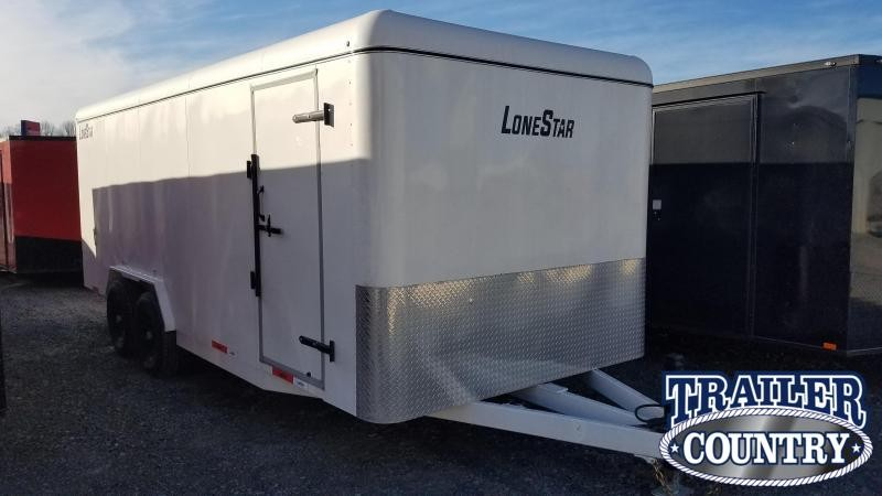 2020 Lonestar 20FT STEEL Enclosed Cargo Trailer
