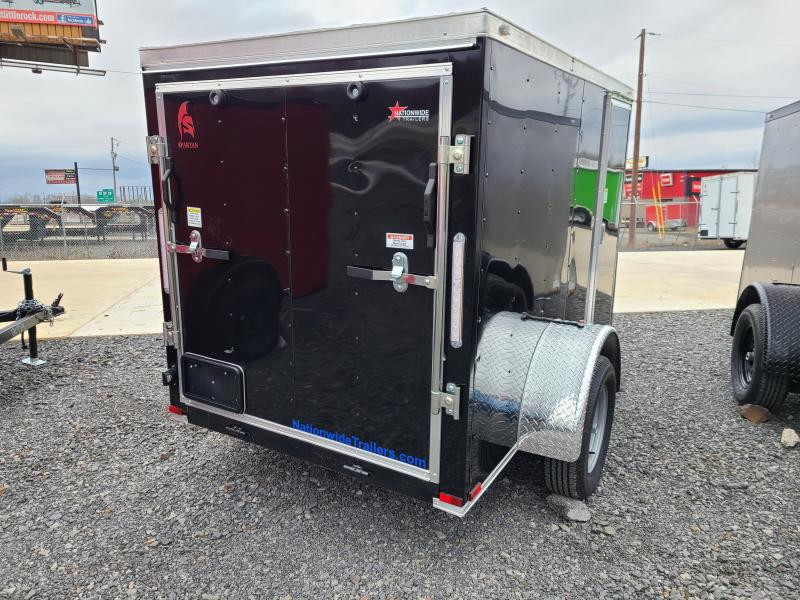 2021 Spartan Cargo 5X8SA Enclosed Cargo Trailer