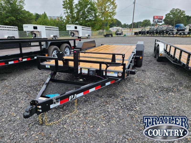 2021 PJ Trailers 83X20 TA TILT Car / Racing Trailer