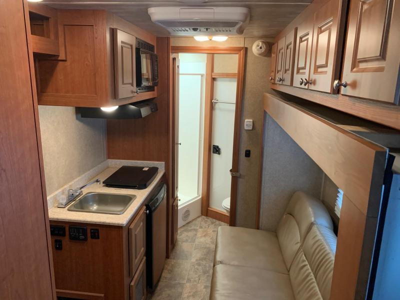 2018 Shadow Trailers 3 Horse with Living Quarters Horse Trailer