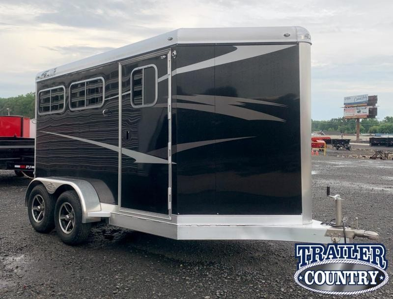 2022 4-Star Trailers Runabout 2 Horse Bumper Pull Horse Trailer