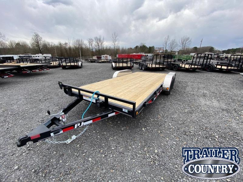 2021 PJ Trailers 102X20 TA Car / Racing Trailer