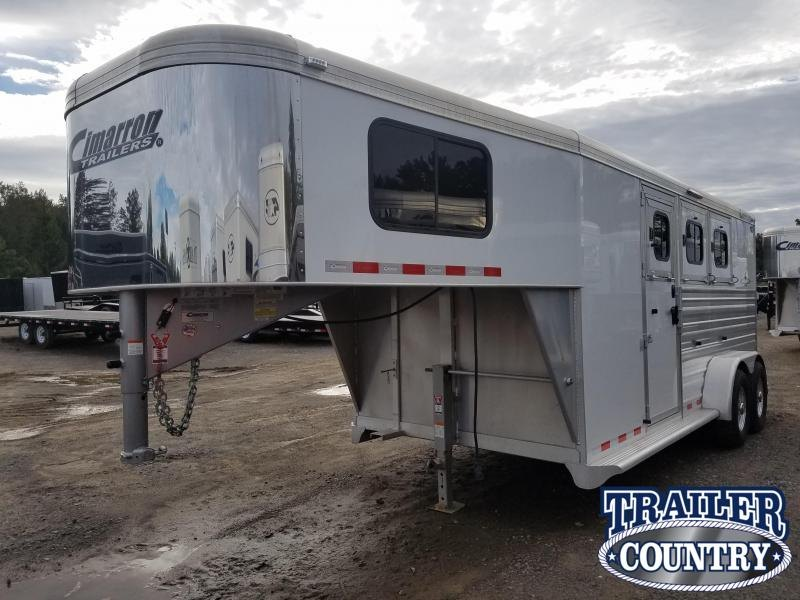 ***MANAGER'S SPECIAL***2018 Cimarron Trailers NORSTAR 3 HORSE Trailer