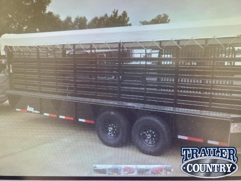 2021 BCI Trailers 20FT LIVESTOVK Livestock Trailer