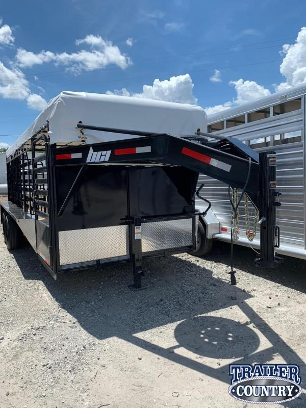 2021 BCI Trailers 20FT Livestock Trailer