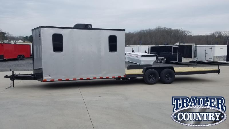 2020 Spartan Cargo 8.5X30 HYBRIDE ATV Trailer