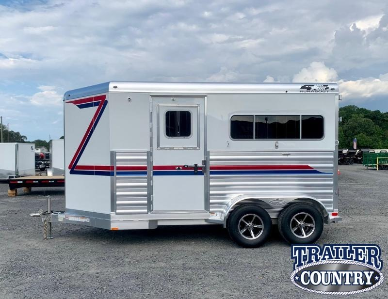 2022 4-Star Trailers Runabout 2 Horse Straight Load Trailer - IN STOCK Horse Trailer