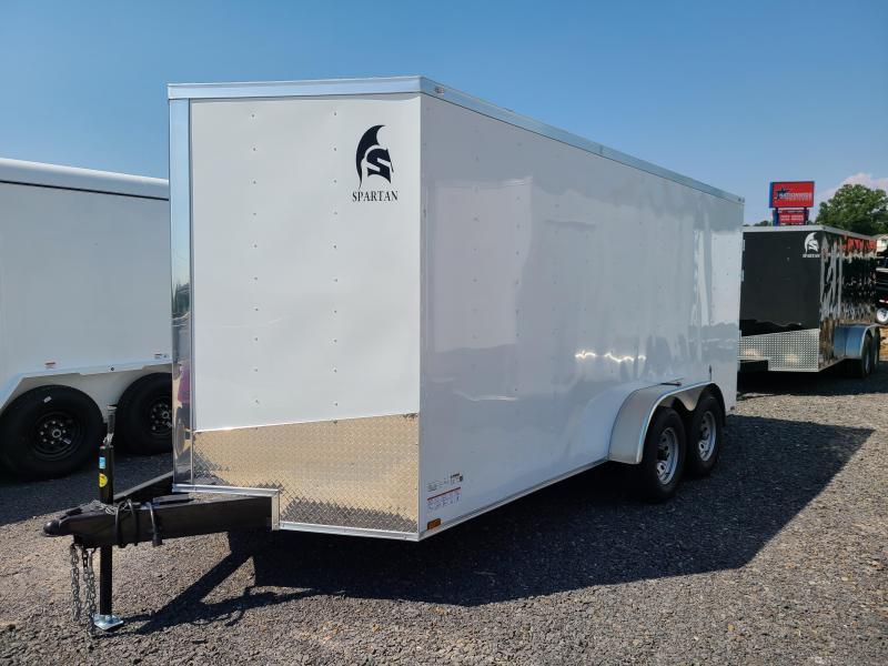2020 Spartan Cargo 7X16 Enclosed Cargo Trailer