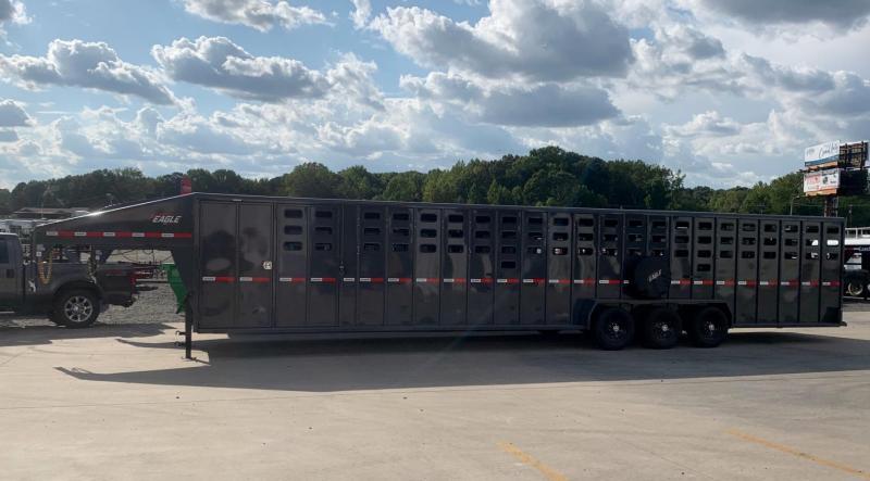 2022 Maxxim Industries Eagle 40' Stock Combo Livestock Trailer - IN STOCK!!