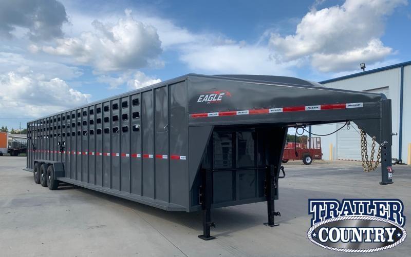 2022 Maxxim Industries Eagle 40' Stock Combo Livestock Trailer