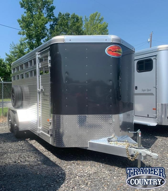 2022 Sundowner Trailers 16' Stockman Express Livestock Trailer