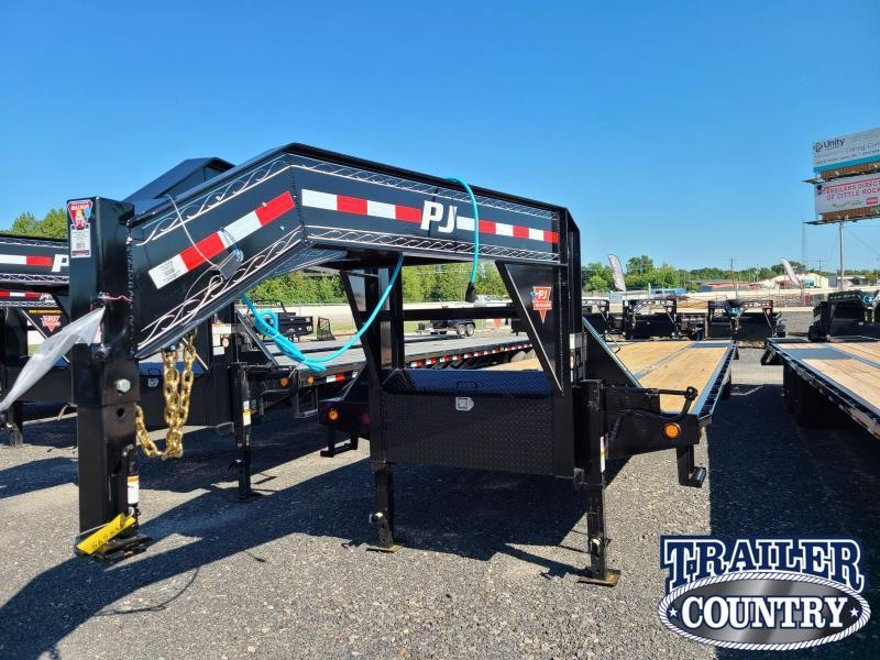 2021 PJ Trailers 102X40 LOW PRO Flatbed Trailer