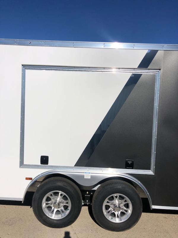 2021 Lightning Trailers LTFCH824TA2 Car / Racing Trailer