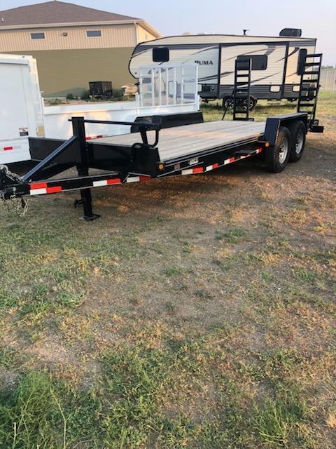 2021 DCT 20HD-14BT Equipment Trailer