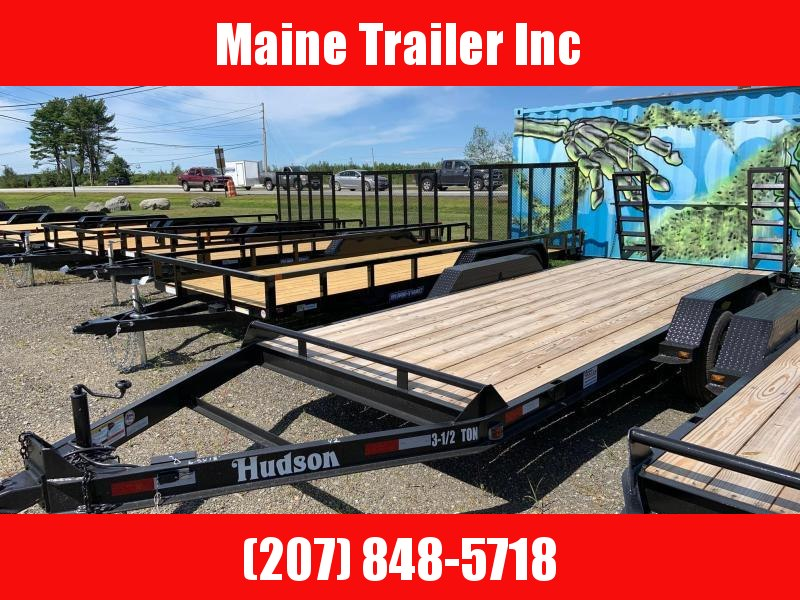2020 Hudson Brothers HSE Deluxe - 3 1/2 Ton Capacity (16') Equipment Trailer