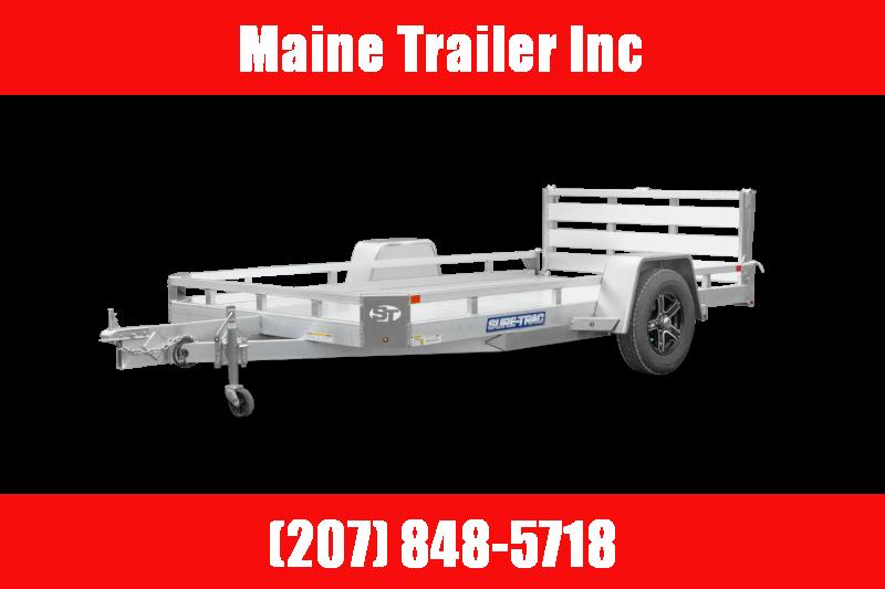 2021 Sure-Trac 7X10 Utility 3K ST8210LS-A-030 Utility Trailer
