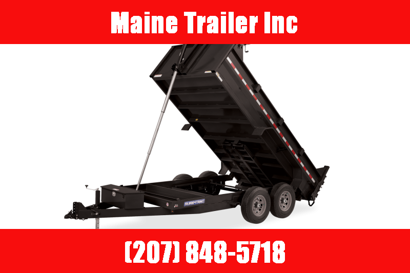 2021 Sure-Trac 82 IN x 14 HD Low Profile Dump Trailer