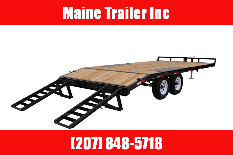 2021 Sure-Trac ST102173TDO2A-B-100 Equipment Trailer