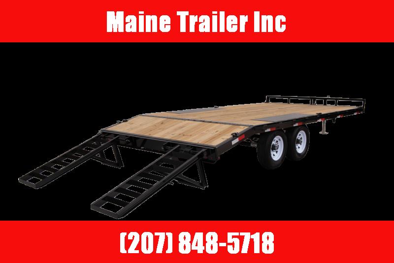 2021 Sure-Trac ST102173TDO2A-B-100 Equipment Trailer