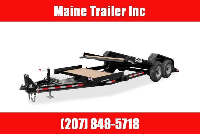 2021 Cam Superline P6CAM155STT Flatbed Trailer