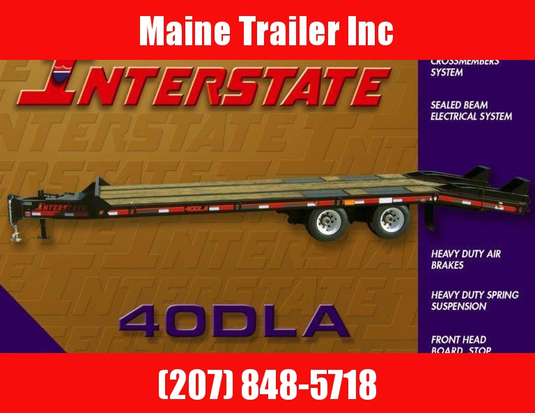 2021 Interstate 40DLA Equipment Trailer