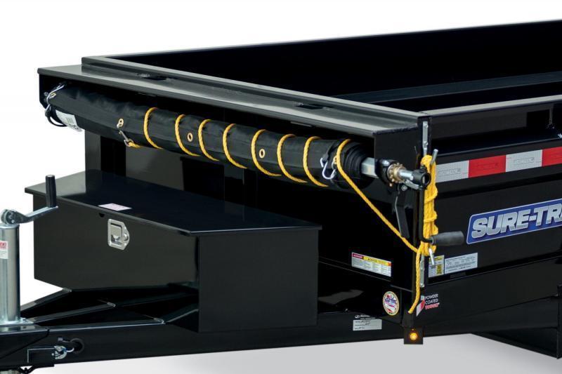 2021 Sure-Trac ST6208D-B-050 Dump Trailer
