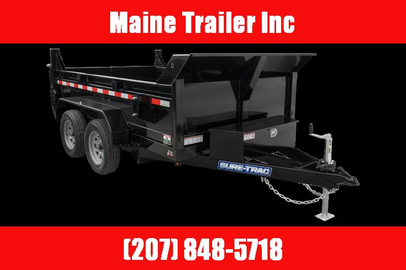 2021 Sure-Trac ST7212D1R-B-100 Dump Trailer