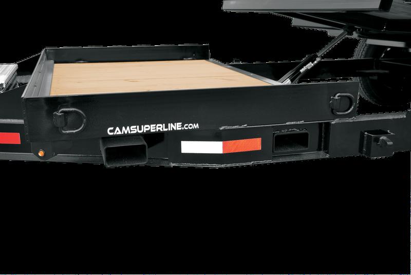 2021 Cam Superline P7CAM154STT Split Tilt Trailer