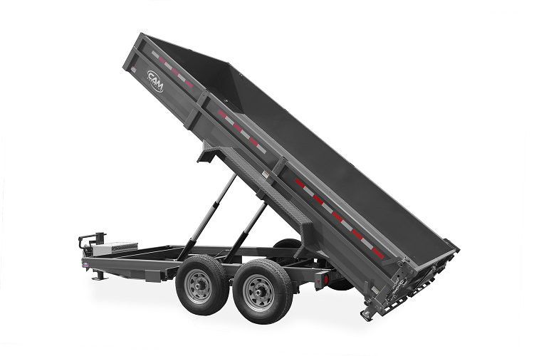 2021 Cam Superline P6CAM614LPHD (6 Ton Low Profile Heavy Duty Dump Trailer 6x14) Dump Trailer
