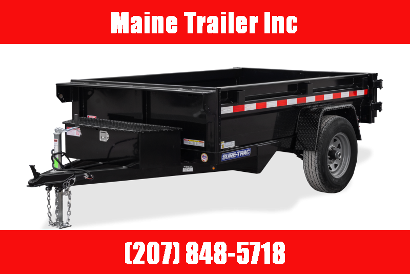 2021 Sure-Trac ST6210D-B-070 Dump Trailer