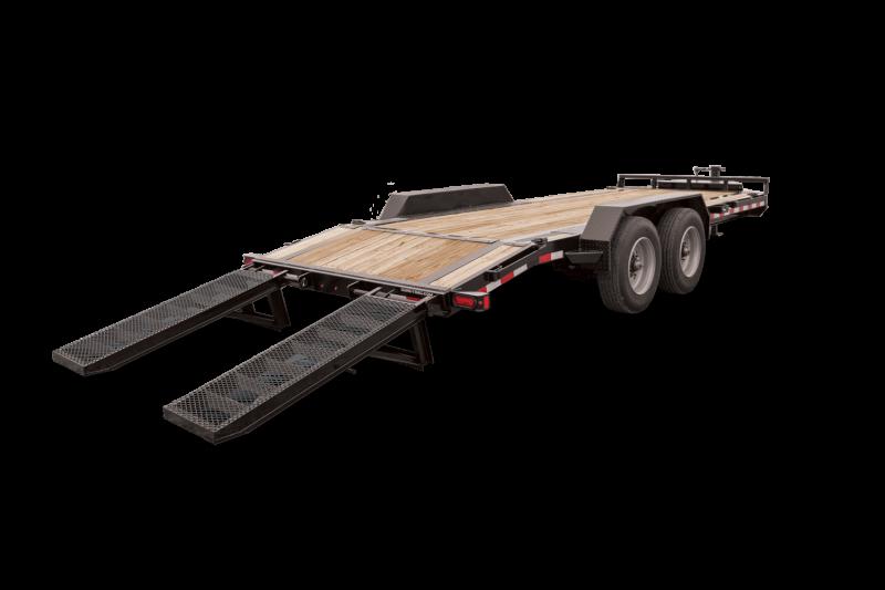 2021 Sure-Trac ST8218ET-B-140 Equipment Trailer