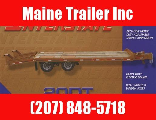 2021 Interstate 20DT Equipment Trailer 10 Ton 8.5' x 26'