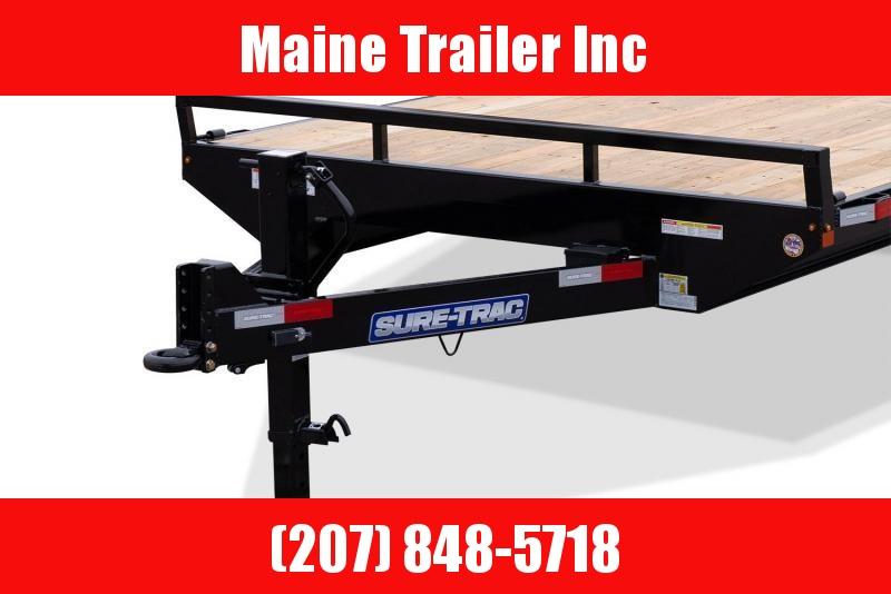 2021 Sure-Trac ST102184SDDO-B-150 Flatbed Trailer