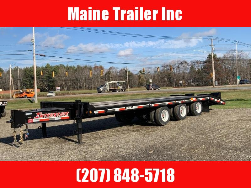 2021 Interstate 50DLA/102 Equipment Trailer