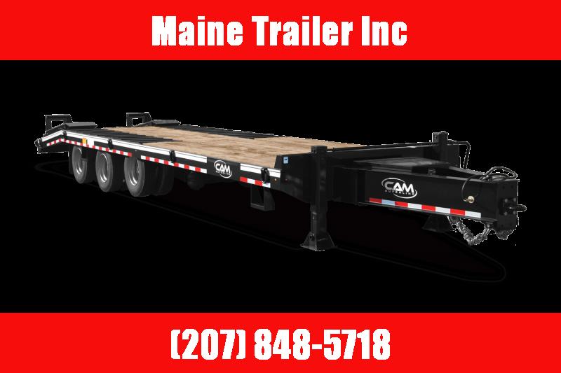 2021 Cam Superline P25CAM8245TA 25 Ton Flatbed Trailer