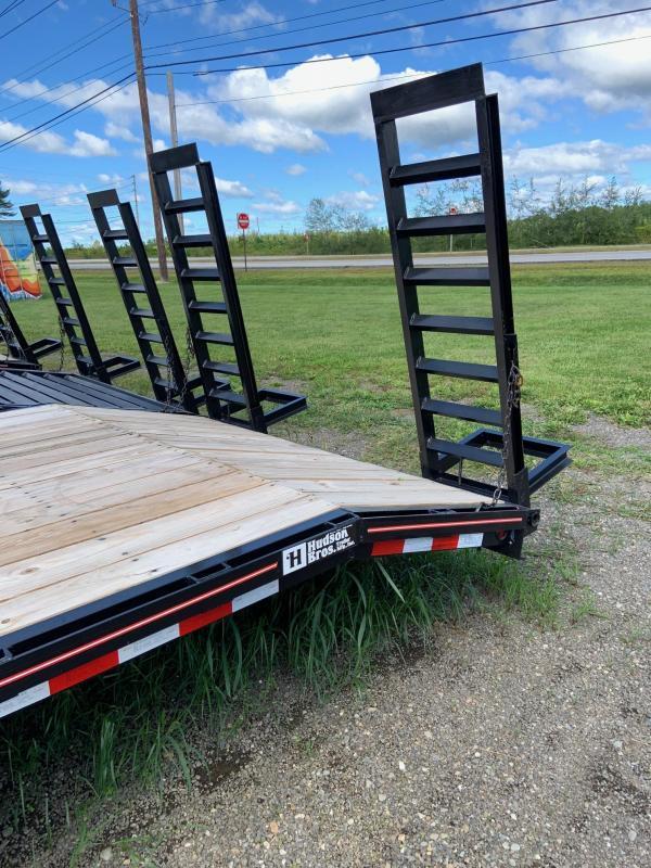 2021 Hudson Brothers HTMBG - 7 Ton Capacity (23') Equipment Trailer