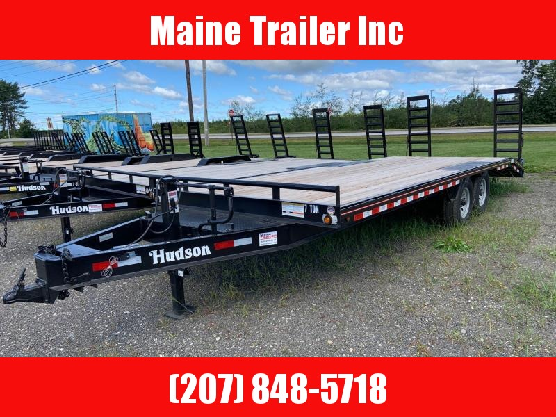 2021 Hudson Brothers HTMBG - 7 Ton Capacity (23') Equipment Trailer