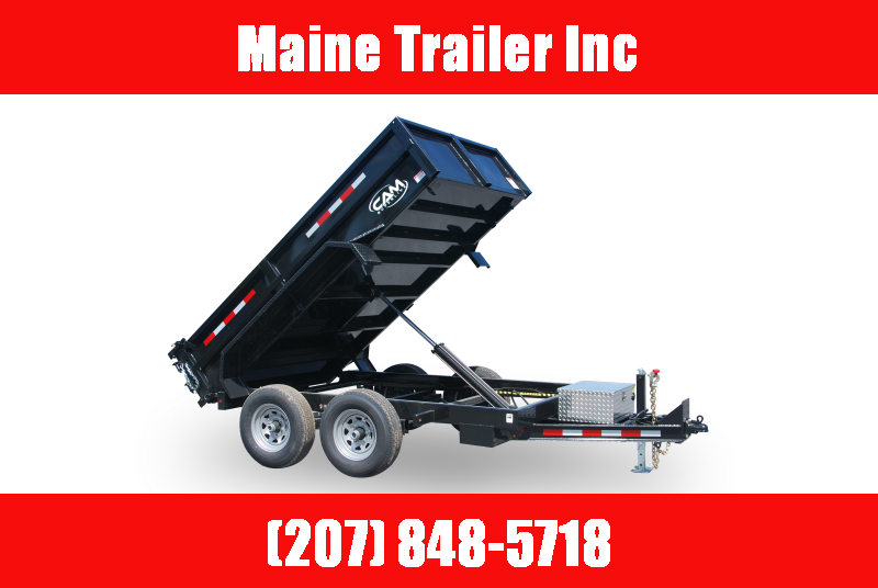 2021 Cam Superline P5CAM612LPD (5 Ton Low Profile Dump Trailer 6x12) Dump Trailer
