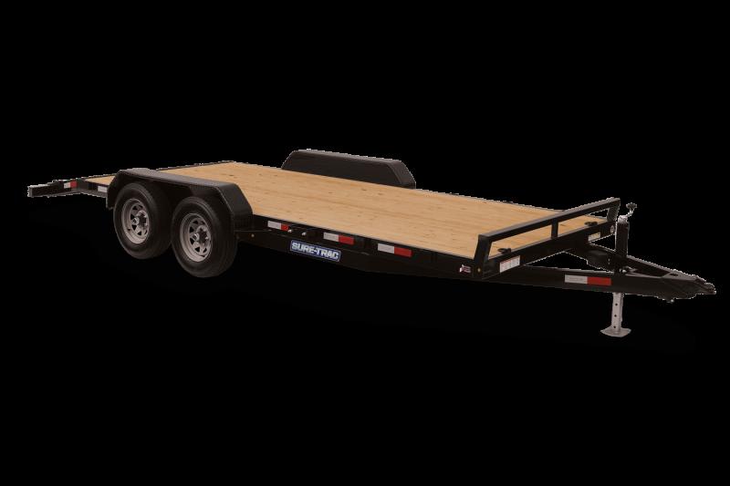2021 Sure-Trac ST8216CHW-B-070 Car / Racing Trailer