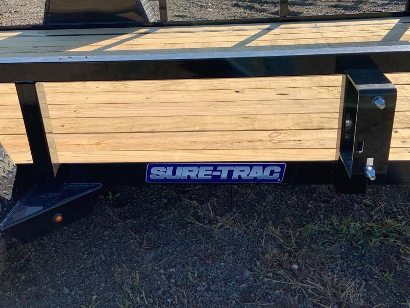 2021 Sure-Trac ST8212TA-B-030 7' X 12' Utility Trailer
