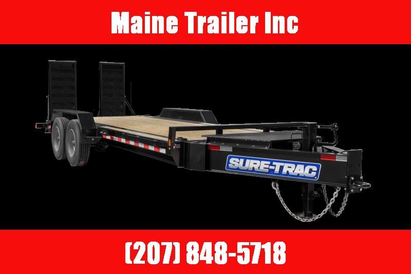 2021 Sure-Trac ST8220ET-B-140 Equipment Trailer