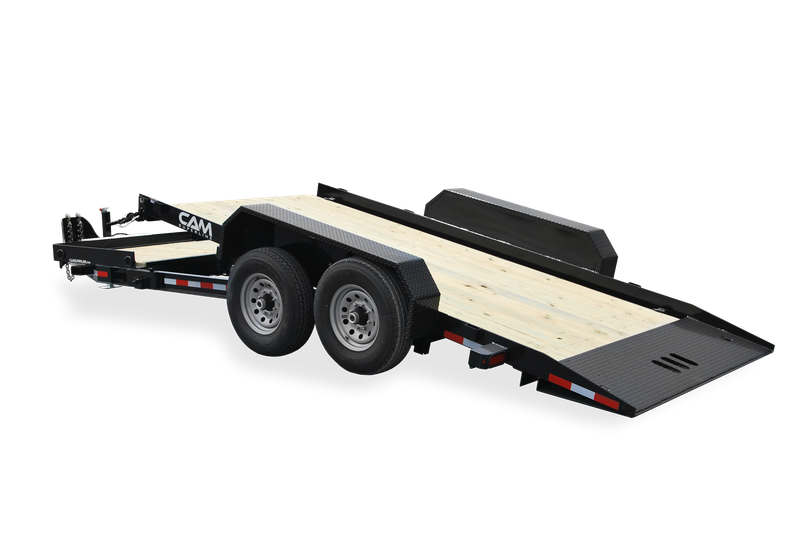 2021 Cam Superline P7CAM174STT Split Tilt Trailer
